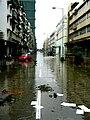 Macau RuaDoDrLourencoPereiraMarques during TyphoonKoppu.jpg