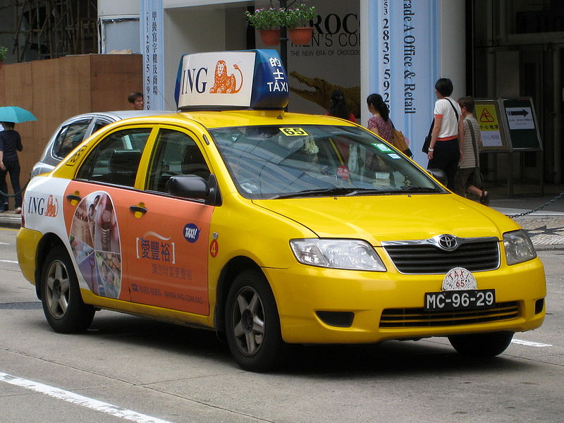 Macau Yellow Taxi
