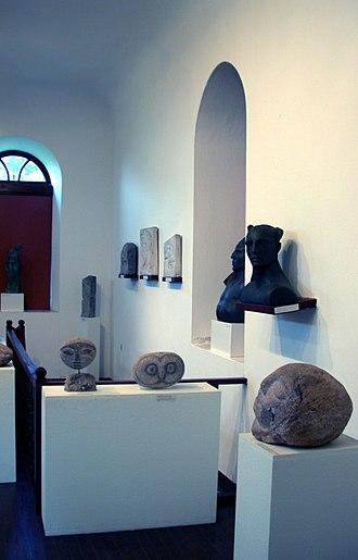 Polygnotos Vagis Municipal Museum - Image: Macedonian Museums 35 Polignotos Vagis 477
