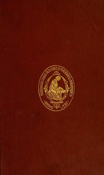 File:Machaut - Œuvres, éd. Hœpffner, I.djvu