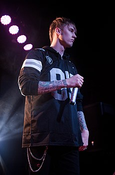 Machine Gun Kelly nel 2013