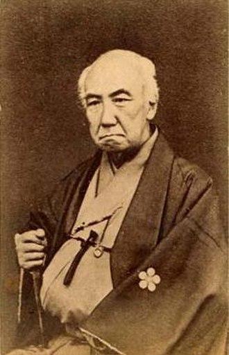 Maeda Nariyasu - Maeda Nariyasu in later years