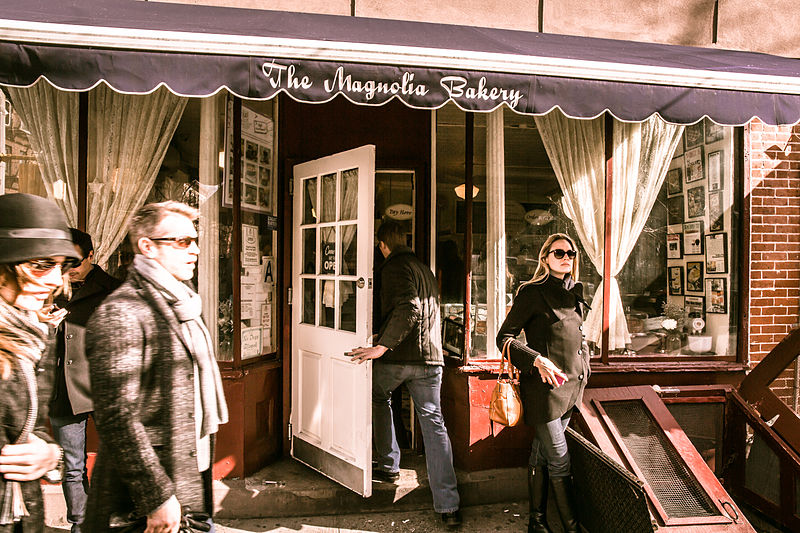 File:Magnolia Bakery, 401 Bleecker Street, New York, NY 10014, USA - Jan 2013 O.jpg