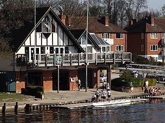Maidenhead Rowing Club - Image: Maidenhead RC Boathouse