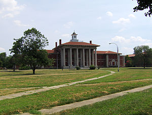 St. Elizabeths Hospital - The Main Building on the western campus at St. Elizabeths