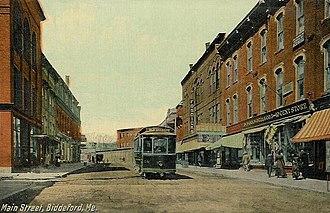 Biddeford, Maine - Image: Main Street, Biddeford, ME