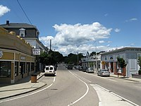 Main Street, June 2010, Franklin MA.jpg