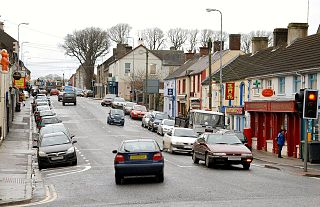 Saintfield village in United Kingdom