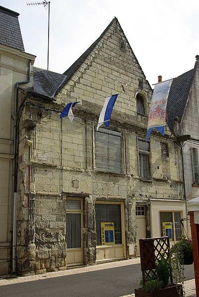 Maison, 1 rue Anne de Bretagne Langeais, PA00097798.