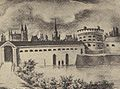 Mala Sluza, Fort Haake, Poznan. Lata 40. XIX w.jpg