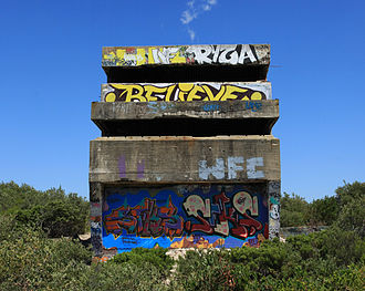 Malabar, New South Wales - Malabar Battery observation post.