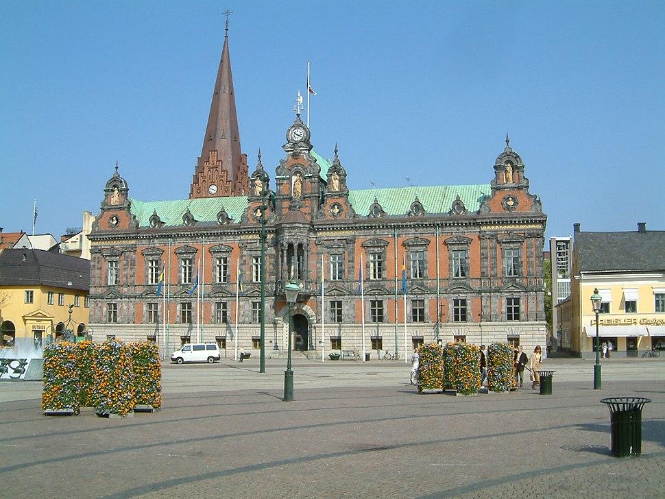 Malmö, ratusz miejski