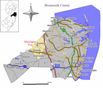 Manalapan Township, New Jersey - Image: Manalapan twp nj 025