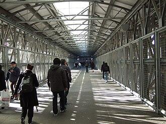 West Street pedestrian bridges - North bridge, built 2003