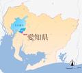 Map (Okehazama-Midori Ward-Nagoya-Aichi).png