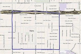 Adams-Normandie, Los Angeles districts and neighborhoods of Los Angeles