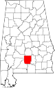 Map of Alabama highlighting Butler County.svg
