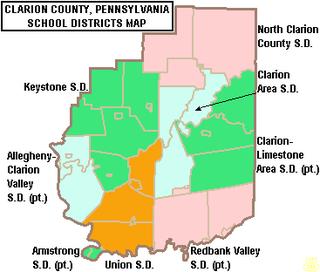 Clarion-Limestone Area School District Public school in Strattanville, Clarion County, Jefferson County, Pennsylvania, United States