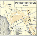 Map of Frederikssund in Frederiksborg Counties in Denmark ca. 1900.jpg