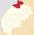 Map of Lviv Oblast highlighting Sokal Raion.png