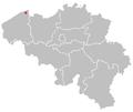 Map of brugge in belgium.PNG