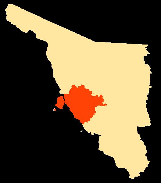 Archivo Mapa Municipios Sonora Hermosillo Png Wikipedia