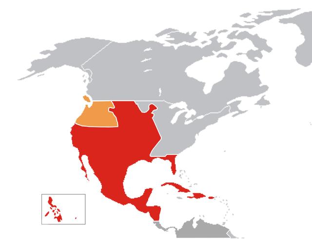 mapa ng silangang asya