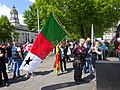 March for Welsh Independence arranged by AUOB Cymru First national march; Wales, Europe 08.jpg
