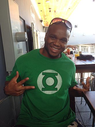 Marcus Brimage - Image: Marcus Brimage enjoying his first Brunch in Fort Lauderdale, FL 2013 10 12 12 23
