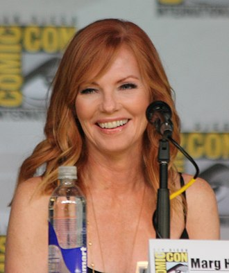 Marg Helgenberger - Helgenberger at the 2013 San Diego Comic Con International