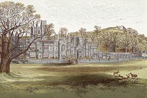 Margam Country Park - Margam abbey c.1865