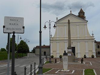Bosaro - Maria Bolognesi square