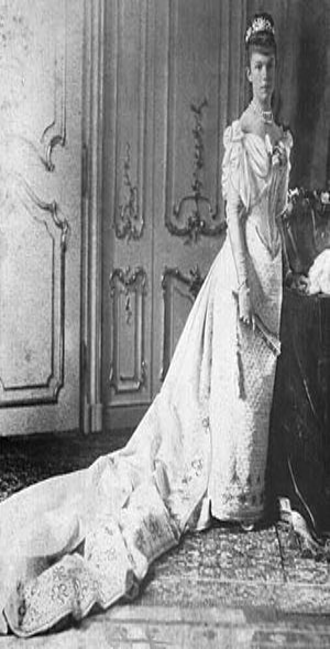 Archduchess Marie Valerie of Austria - Photograph taken in 1890