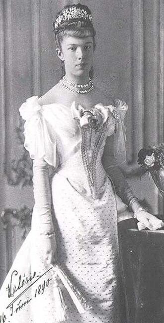 Archduchess Marie Valerie of Austria - Maria Valeria of Austria, 1890