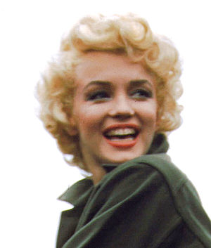 Eponymous hairstyle - Marilyn Monroe, 1954