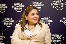 Marisol Argueta de Barillas, World Economic Forum on Latin America 2009.jpg