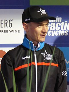Mark McNally (cyclist) British bicycle road
