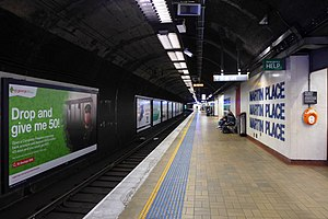 Martin Place railway station - Platform