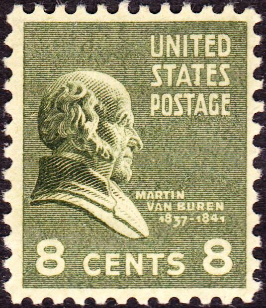 Martin Van Buren3 1903 Issue-8c