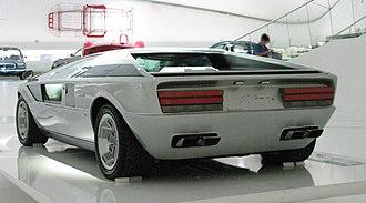 Maserati Boomerang - Maserati Boomerang (rear)