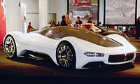 The Maserati Birdcage 75th at the 2006 LA Auto Show.