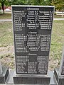 Mass grave of Soviet soldiers and memorial sign to compatriots in Shevchenkove settlement, Kharkiv Oblast by Venzz 21.jpg