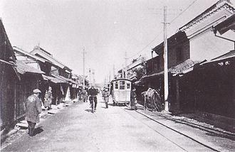 Tōhoku Main Line - The Matsushima-Machi handcar tramway