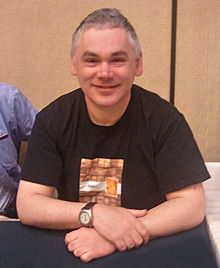 Matthew Waterhouse - Gallifrey 2011 (cropped etc).jpg
