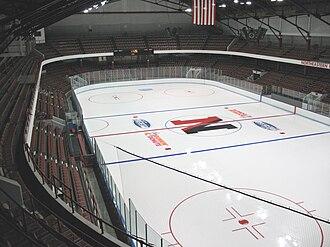 Matthews Arena - Matthews Arena interior in 2009
