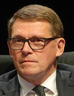 Matti Vanhanen Finnish politician