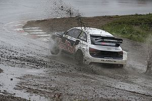 2016 World RX of Sweden - Rain and mud made for tricky conditions on the Saturday