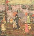 Maurice Prendergast (1858-1924) - Telegraph Hill (1900).jpg