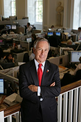 Bloomberg Distinguished Professorships - Michael Bloomberg