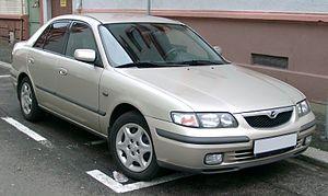 Mazda Capella - Image: Mazda 626 front 20071204